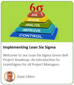 Lean Sig Sigma Course Product Logo