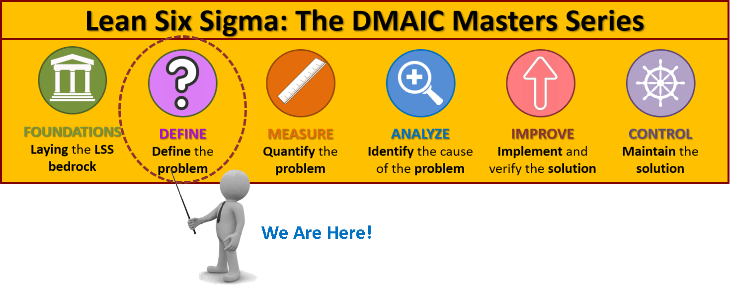 Lean Six Sigma Masters Series - Define Phase