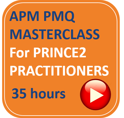 APM PMQ for PRINCE2 Practitioners APM