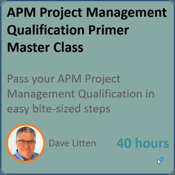 apm primer 600x600 - APM PMQ PRIMER - Project Management Masterclass
