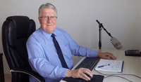 Dave Litten PRINCE2 Coach working at his desk