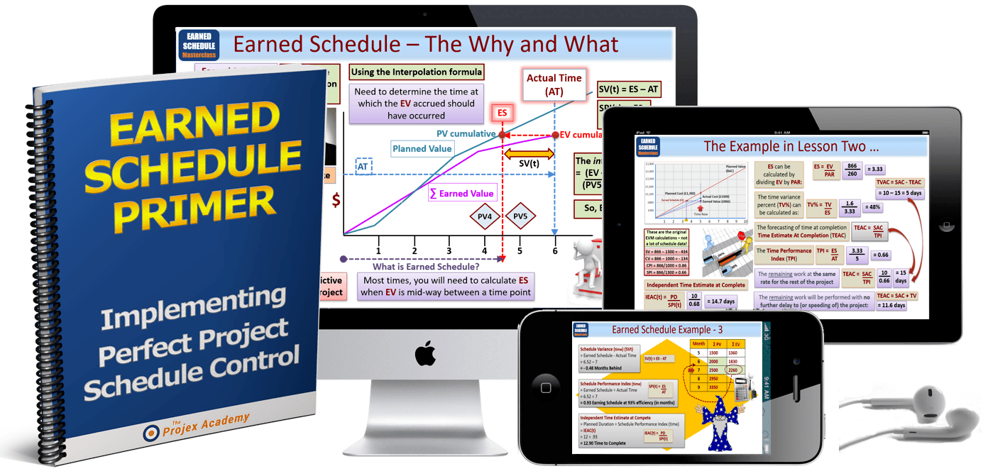 earned schedule master product - Project Management Earned Schedule