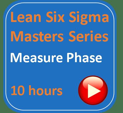 lean six sigma measure phase