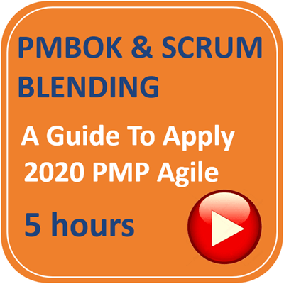 Learn PMBOK with SCRUM