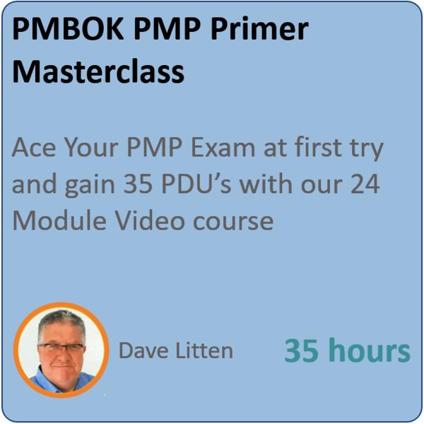pmp primer 1 600x599 - PMP Primer – Project Management Professional Masterclass