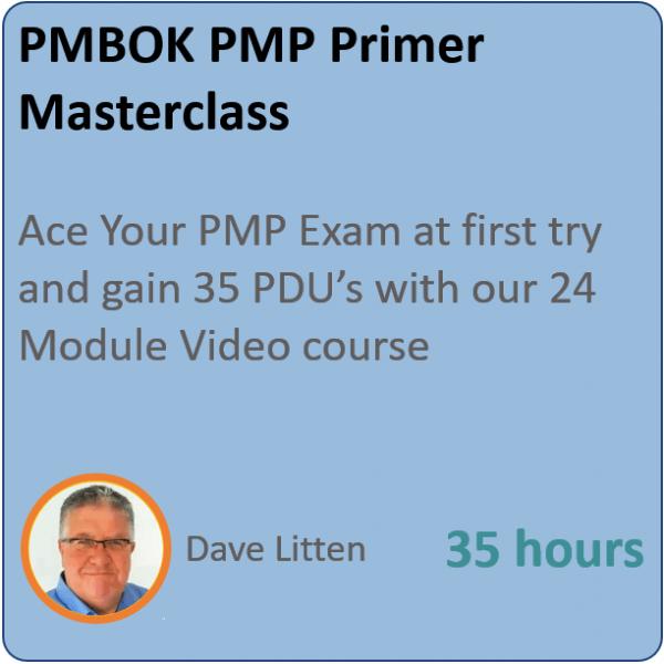 pmp primer 1 600x600 - PMP Primer Masterclass