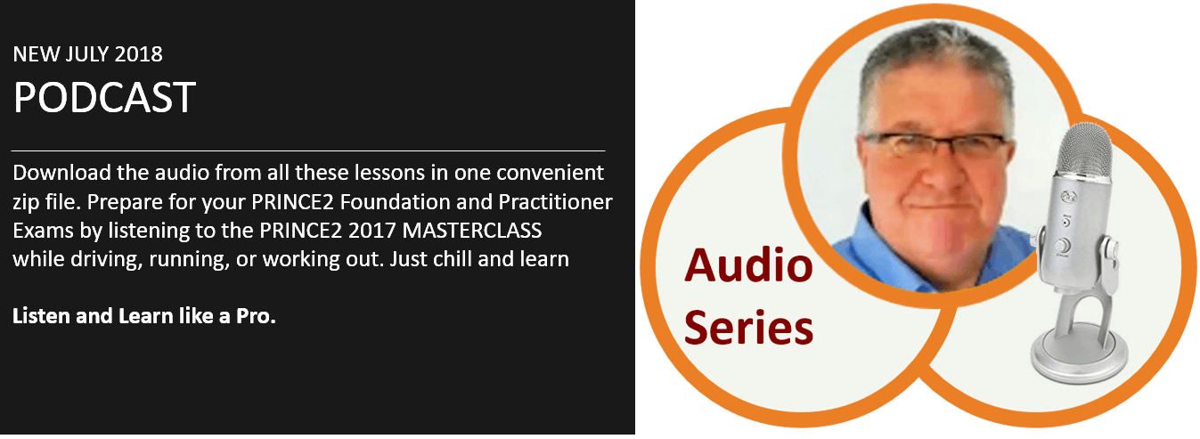 podcast image - PRINCE2 Podcast – Audio from the Foundation and Practitioner 2017 Masterclass