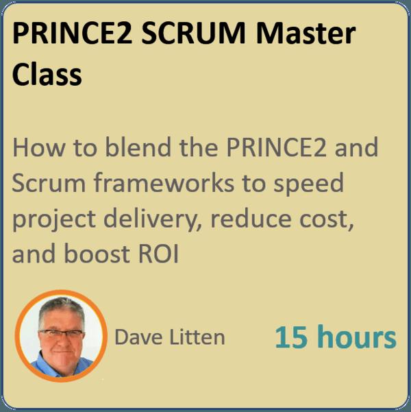 prince2 scrum 600x601 - PRINCE2 Scrum Masterclass