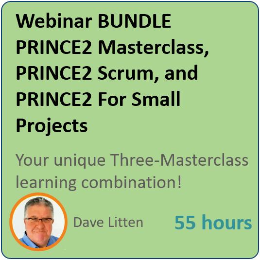 prince2 webinar 3 product bundle - Webinar Bundle #1 - The PRINCE2 Mega Bundle