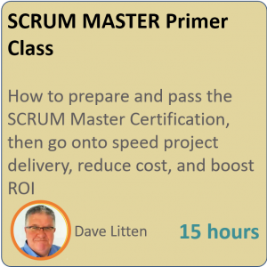 product graphic square scrummaster 300x300 - SCRUM MASTER Primer