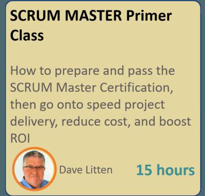 SCRUM MASTER Primer