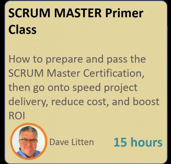 product graphic square scrummaster 600x574 - SCRUM MASTER Primer
