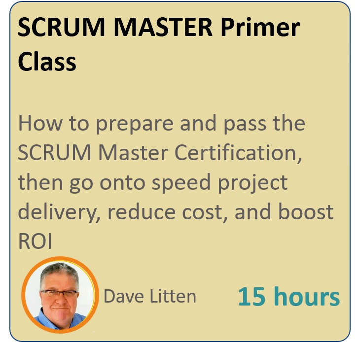 SCRUM MASTER Primer - Projex Academy - Online Project Management ...