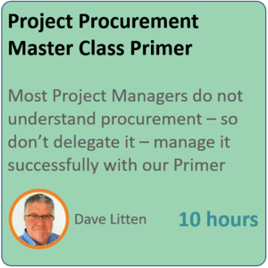 project procurement 300x300 - Project Procurement Primer