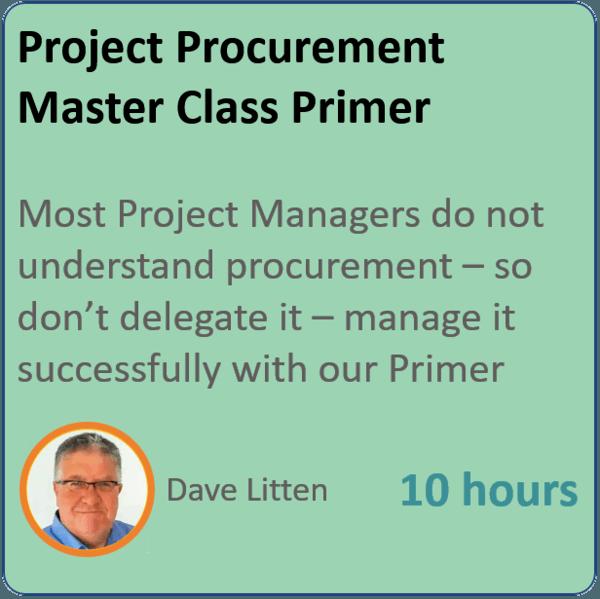 project procurement 600x599 - Project Procurement Primer