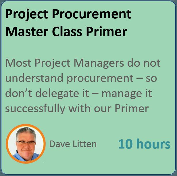 Project Procurement Primer