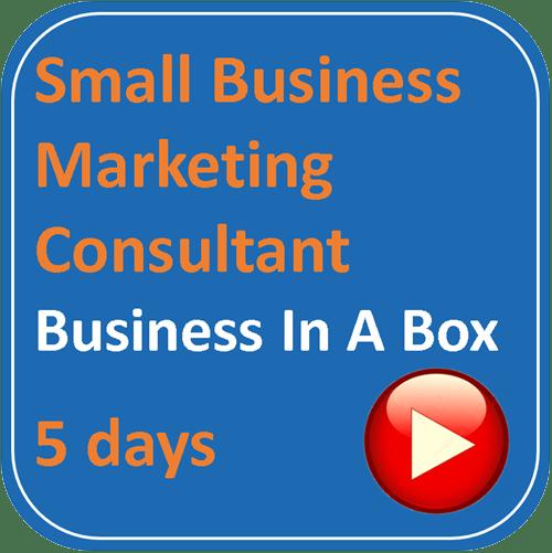 small business marketing consultant square logo